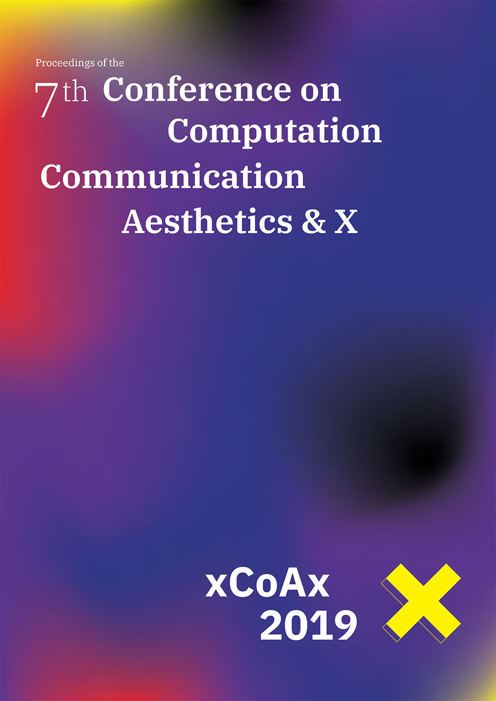 Cover of the Proceedings of xCoAx 2019